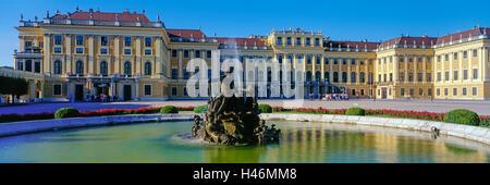 Schönbrunn Palace, Vienna, Austria - Stock Photo