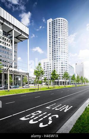 Street in Rotterdam, Netherlands - Stock Photo