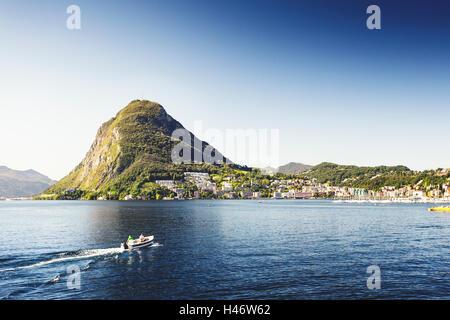 Monte San Salvatore, Ticino, Switzerland - Stock Photo