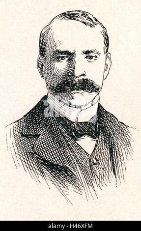 Sir Edward William Elgar, 1st Baronet, 1857 – 1934.  English composer. - Stock Photo