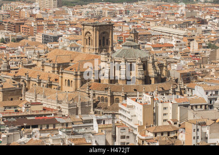 granada top view - Stock Photo