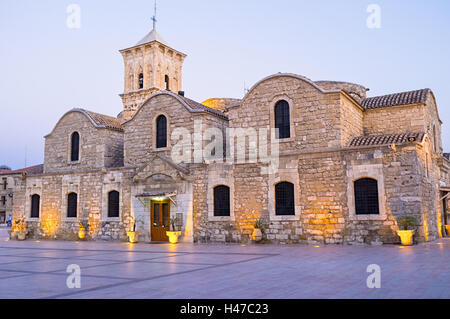 The St Lazarus church of Larnaca is the pearl of the byzantine architecture in Cyprus. - Stock Photo