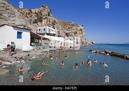 Greece, island Fondling, Embros Therme, - Stock Photo