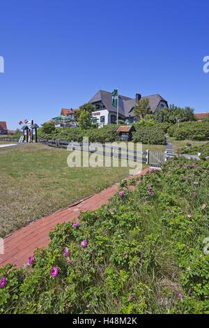Local view, restaurant 'Witthus',Baltrum (island),