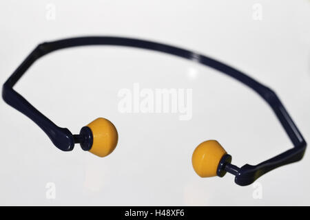 Ear defender, hearing, protection, loudly, noise prevention, noise, ears, work, ear protection, - Stock Photo