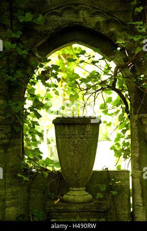 Historical, cemetery, gravestone, Judaism, - Stock Photo