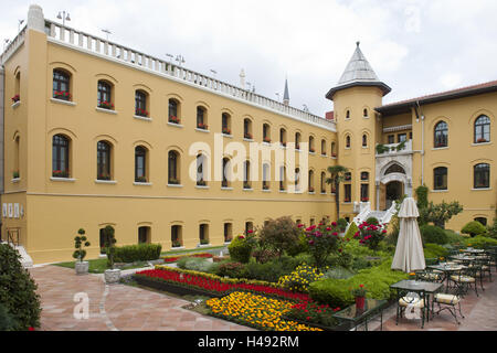 Turkey, Istanbul, Sultanahmet, Four Seasons hotel Sultanahmet in the building the former prison, - Stock Photo