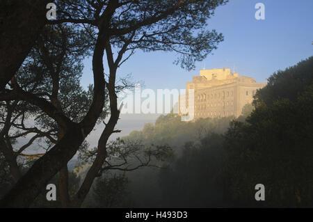 Cloister Sant Salvador, Majorca, Spain, - Stock Photo
