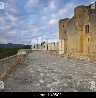 Spain, Majorca, Palma, Castell de Bellver, castle, - Stock Photo