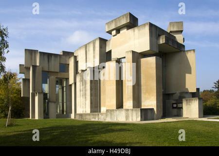 Austria, Vienna, defensive wall, church to the holiest Trinity also Wotrubakirche, - Stock Photo