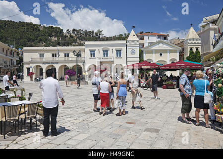 Greece, Zakynthos, Markus's space, tourism, - Stock Photo