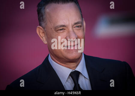 Rome, Italy. 13th Oct, 2016. Rome 13 october, Rome Film Festival 11 edition, Red Carpet Tom Hanks. Pictured Tom Hanks Credit:  Andrea Ronchini/Pacific Press/Alamy Live News