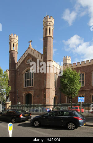 St Malachy's Catholic Church in Alfred Street, Belfast, Northern Ireland. - Stock Photo