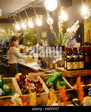 inside the vietnamese restaurant anjoy in rykestrasse in the borough stock photo royalty free. Black Bedroom Furniture Sets. Home Design Ideas