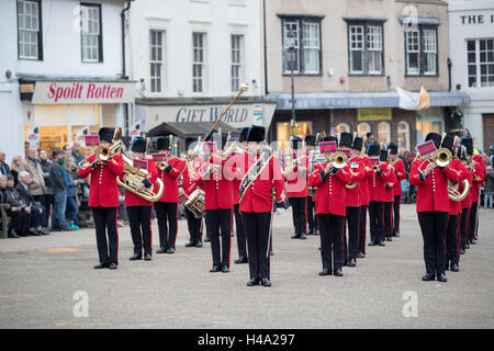 Battle, England. 14th October 2016, Hastings 950th anniversary preparation,s for a series of events marking the - Stock Photo