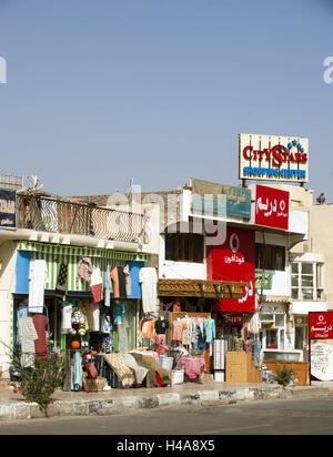 Egypt, Sinai, Nuweiba on the east coast, - Stock Photo