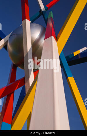 Germany, Schleswig - Holstein, piece of art, abstractly, medium close-up, detail, - Stock Photo