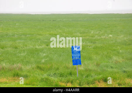 Germany, Lower Saxony, North Sea island, Norderney, east cent, - Stock Photo