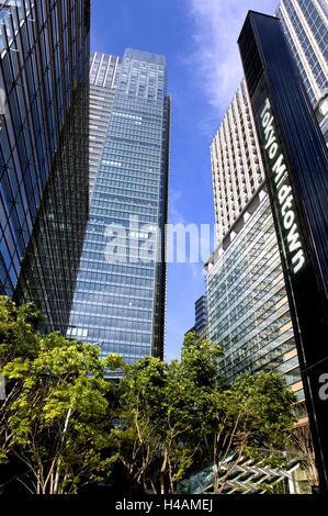 Japan, Tokyo, part town Roppongi, Midtown East, Midtown Tower, Midtown west, Asia, Eastern Asia, town, capital, - Stock Photo
