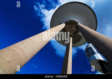 Stronghold, water tower, Landskrona, Scania, South of Sweden - Stock Photo
