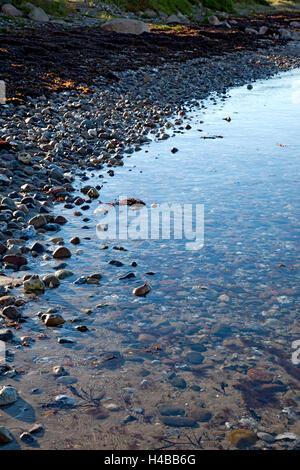 Water, coast, beach, the Baltic Sea - Stock Photo