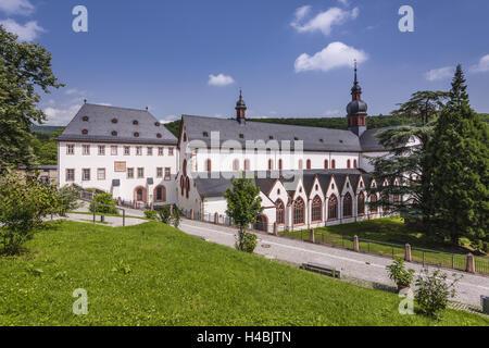 Germany, Hessen, the Rhinegau, Eltville on the Rhine, cloister Eberbach, basilica, - Stock Photo