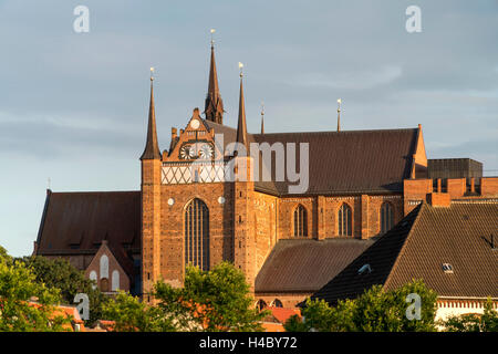 St. Georg Church, Hanseatic City of Wismar, Mecklenburg-Vorpommern, Germany - Stock Photo