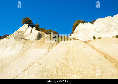 Denmark, island M°n, The chalk rocks of M°ns Klint - Stock Photo