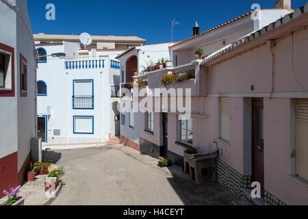 Village Burgau in the Parque Natural do Sudoeste Alentejano e Costa Vicentina, Algarve, Portugal, Europe - Stock Photo