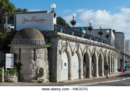 Harry Ramsden Fish and Chip shop on Bournemouth Sea Front, Dorset, England, UK, GB, United Kingdom, Great Britain, - Stock Photo
