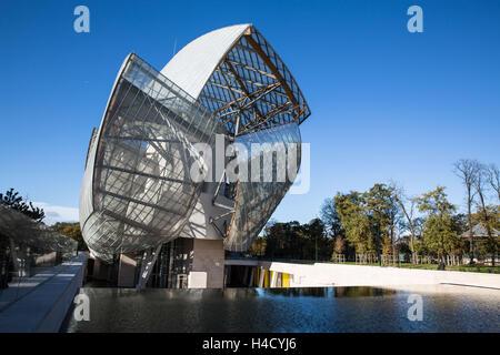 Europe, France, Paris, Fondation Louis Vuitton - Stock Photo