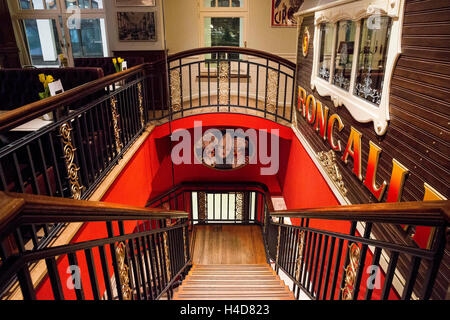 the roncalli grand cafe in the levant house in hamburg stock photo royalty free image. Black Bedroom Furniture Sets. Home Design Ideas