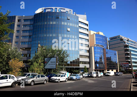 Hotel Parliament in the national palace, Bucharest, Romania - Stock Photo