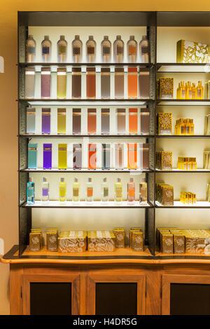 International Museum of Perfume, Fragonard perfumery, Grasse, Alpes-Maritimes department, France - Stock Photo