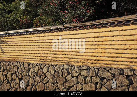 Japan, Nara, Nara park, Todaiji Temple, UNESCO World Heritage - Stock Photo