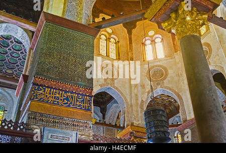 Cairo Qalawun Complex Mausoleum With Dome And Minaret