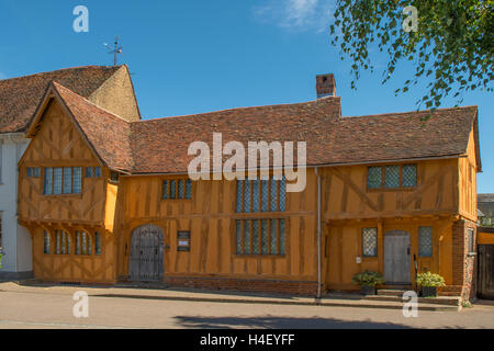 Little Hall, Lavenham, Suffolk, England - Stock Photo