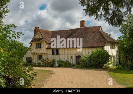 Valley Farm, Flatford, Suffolk, England - Stock Photo