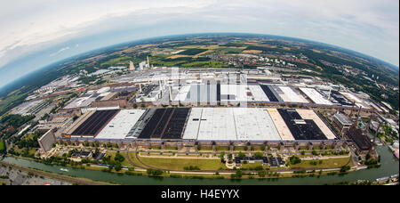 aerial view of volkswagen autostadt factory halls and. Black Bedroom Furniture Sets. Home Design Ideas