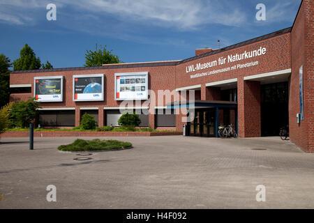 Museum of Natural History and Planetarium, City of Muenster, Muensterland, North Rhine-Westphalia - Stock Photo