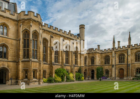 New Court, Corpus Christi College, Cambridge, Cambridgeshire, England - Stock Photo