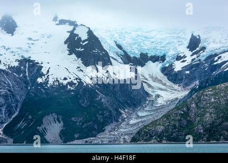 Glacier Kenai fjords, Alaska - Stock Photo