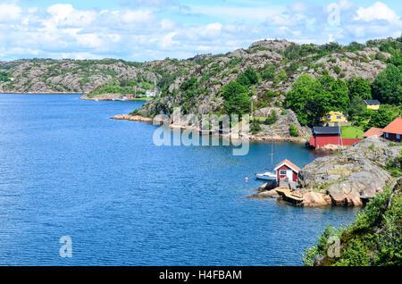 Outdoors in Sweden (Orust) - Stock Photo