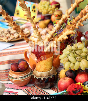 Still life with fruits - Stock Photo