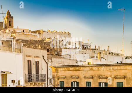 ancient buildings in Ostuni, The White City