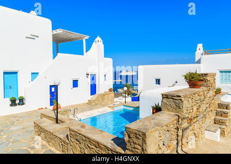 The Beautiful Island Of Mykonos In The Cyclades Islands