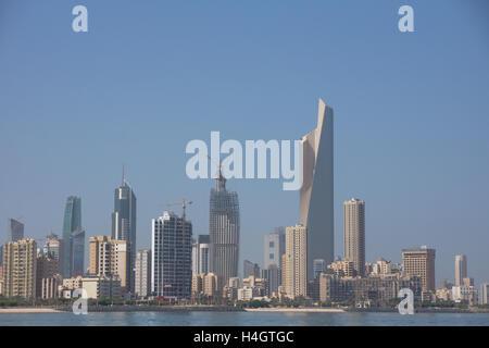 Al Hamra Tower,skyscraper, Kuwait - Stock Photo