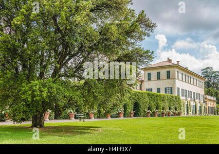 Varese Italien villa menafoglio litta panza varese lombardy italy stock photo
