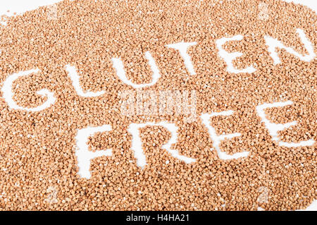 Gluten free buckwheat - Stock Photo