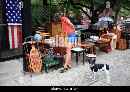 Beautiful Second Hand Furniture, Brooklyn,New York, USA   Stock Photo